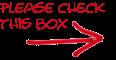 Please check this box
