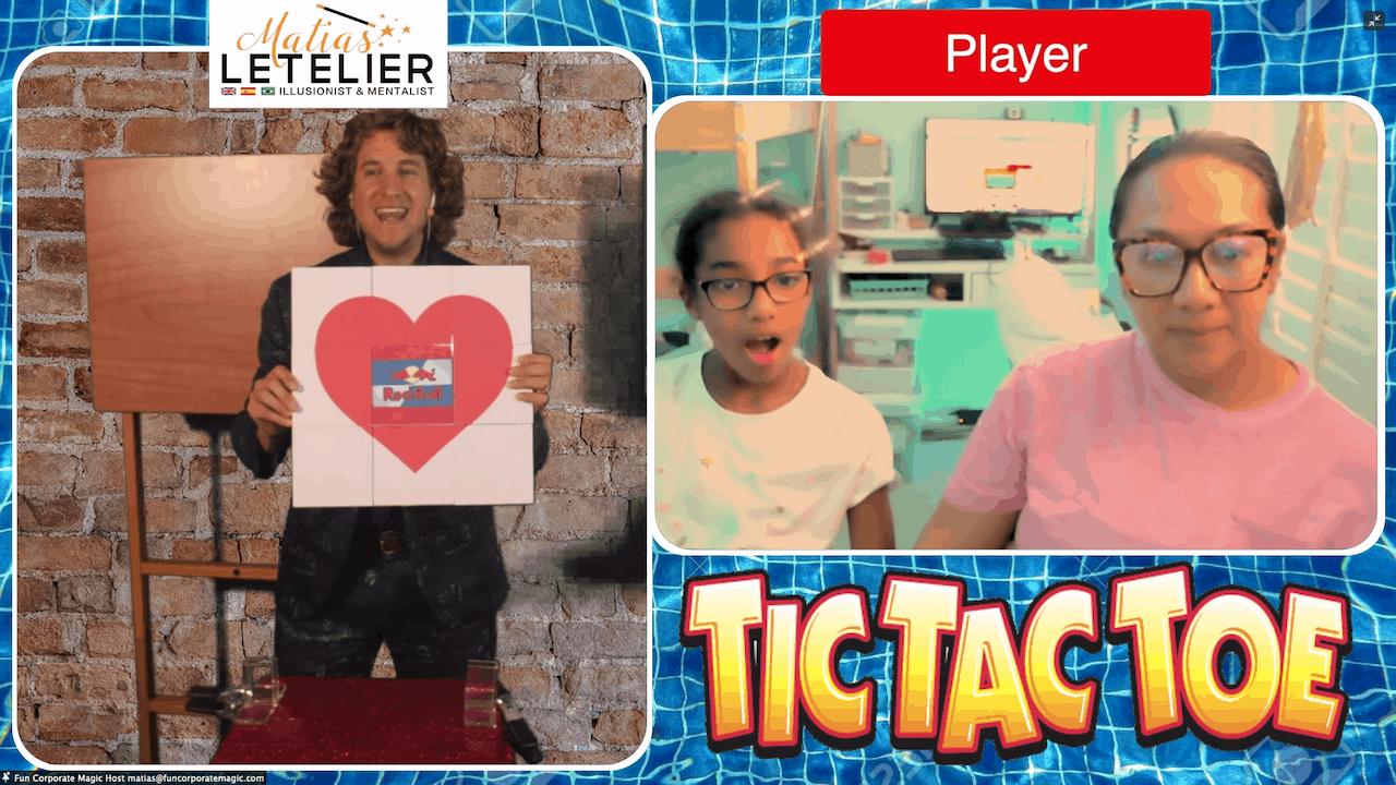 Virtual Magic Show - Heart Trick